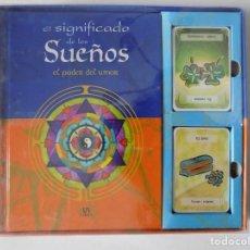 Barajas de cartas: LIBRERIA GHOTICA. JUEGO DE 72 CARTAS ADIVINATORIAS + LIBRO ILUSTRADO. 1990. SIN ESTRENAR.. Lote 148848066