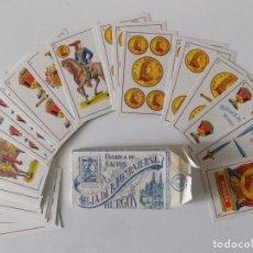 Barajas de cartas: LIBRERIA GHOTICA. ANTIGUA BARAJA DE NAIPES.FLORETE N.14.BURGOS.FABRICACIÓN NACIONAL.HIJA DE FOURNIER. Lote 148853626
