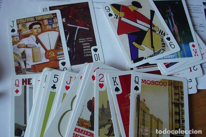 Barajas de cartas: Baraja Rusa de Poker con cartas propaganda sovietica - Foto 5 - 148966598