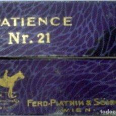 Barajas de cartas: BARAJA DE MINI CARTAS DE POKER PATIENCE Nº 21. Lote 149003074