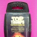 Barajas de cartas: BARAJA DE CARTAS TOP THUMPS STAR WARS . Lote 149005090