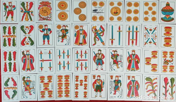 BARAJA DE 40 NAIPES. DOS TOROS. JUAN ROURA. FABRICA HISPANO AMERICANA. CIRCA 1940. (Juguetes y Juegos - Cartas y Naipes - Baraja Española)