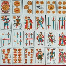 Barajas de cartas: BARAJA DE 40 NAIPES. DOS TOROS. JUAN ROURA. FABRICA HISPANO AMERICANA. CIRCA 1940.. Lote 149147866