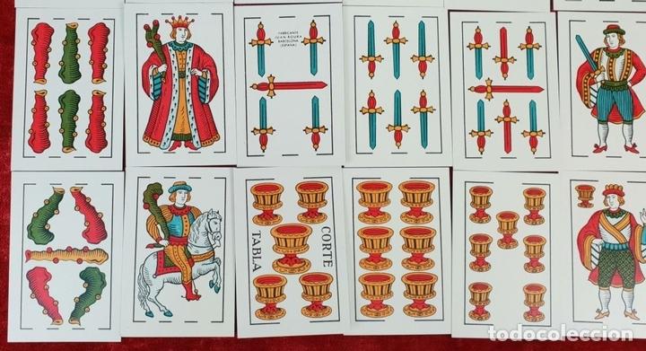 Barajas de cartas: BARAJA DE 40 NAIPES. DOS TOROS. JUAN ROURA. FABRICA HISPANO AMERICANA. CIRCA 1940. - Foto 4 - 149147866