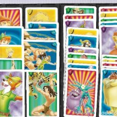 Barajas de cartas: A150- BARAJA DE CARTAS INFANTIL,---DISNEY HEROES (FOURNIER) TIENE 32 CARTAS----. Lote 149296842