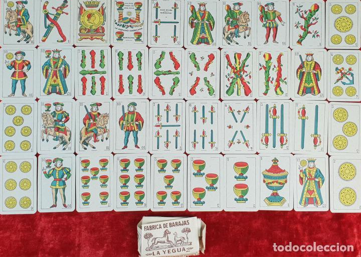 BARAJA DE 40 NAIPES. LA HISPANO AMERICANA. JOAN ROURA. BARCELONA 1918. (Juguetes y Juegos - Cartas y Naipes - Baraja Española)
