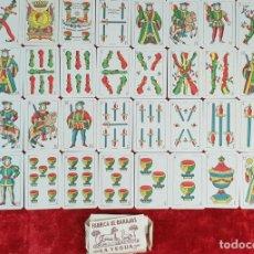 Barajas de cartas: BARAJA DE 40 NAIPES. LA HISPANO AMERICANA. JOAN ROURA. BARCELONA 1918.. Lote 149322650