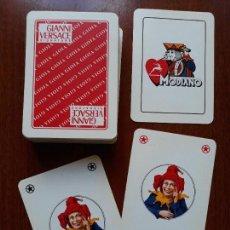 Barajas de cartas: BARAJA CARTAS POKER GIANNI VERSACE- GIUOCO MODIANO S.A TRIESTE ITALY . Lote 149326850