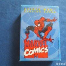 Barajas de cartas: MARVEL / SPIDER-MAN PLAYING CARDS - MARVEL MODIANO 1994 - SPIDERMAN BARAJA DE PÓKER - SIN USO. Lote 149449446