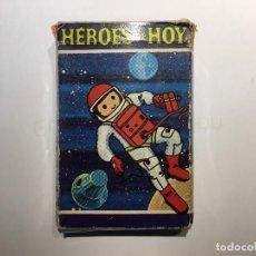 Barajas de cartas: BARAJA HEROES DE HOY DE FOURNIER, COMPLETA 42 CARTAS. Lote 149554178