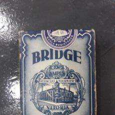 Barajas de cartas: BARAJA BRIDGE,HERACLIO FOURNIER, FIBRA MARFIL OPACO.NUEVO SIN ABRIR.. Lote 149589914