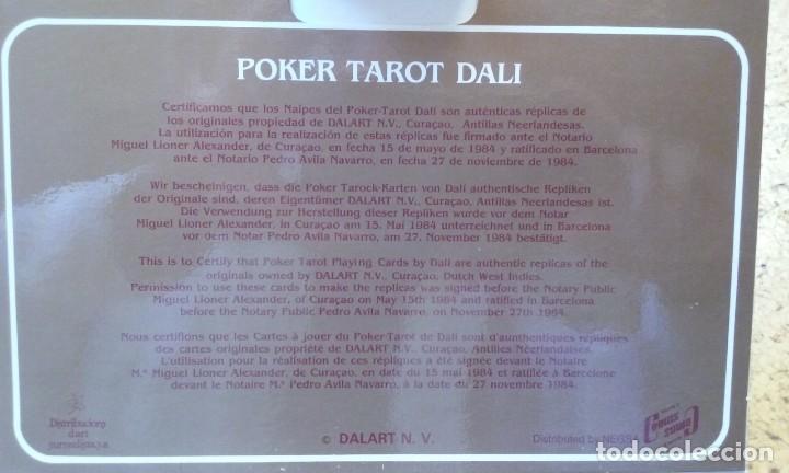 Barajas de cartas: tarot Dali y Gala emblistada - Foto 2 - 149670298