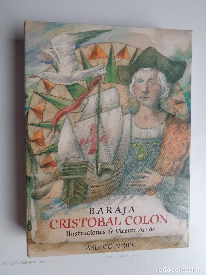 BARAJA CRISTOBAL COLON.N-005 (Juguetes y Juegos - Cartas y Naipes - Otras Barajas)