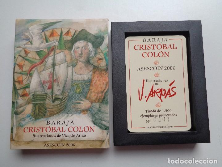 Barajas de cartas: BARAJA CRISTOBAL COLON.N-005 - Foto 2 - 149694314