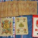 Barajas de cartas: NAIPE ESPAÑOL 50 CARTAS FIBRA MARFIL. Lote 149760558