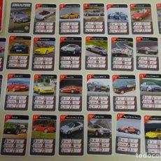 Jeux de cartes: BARAJA DE CARTAS INFANTIL. CUARTETOS. COCHES DEPORTIVOS. MITSUBISHI, JAGUAR, VIPER LEXUS. 70 GR. Lote 227804165