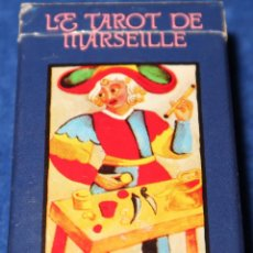 Barajas de cartas: LE TAROT DE MARSEILLE - FOURNIER ¡CARTAS IMPECABLES!. Lote 149770078