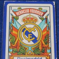 Barajas de cartas: BARAJA REAL MADRID - FOURNIER ¡CARTAS IMPECABLES!. Lote 149871470