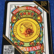 Barajas de cartas: BARAJA AZAHAR - MOD 117 - MAESTROS NAIPEROS ¡PRECINTADA!. Lote 149877086