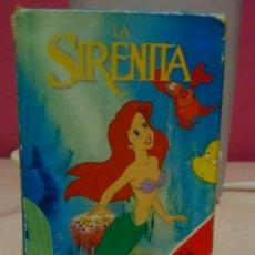 Barajas de cartas: BARAJA CARTAS DISNEY LA SIRENITA. Lote 149879826