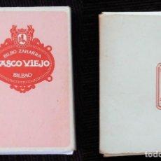 Barajas de cartas: BARAJA EN CARTERITA CASCO VIEJO BILBAO - BILBO ZAHARRA EN PERFECTO ESTADO.. Lote 149887918