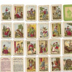 Barajas de cartas: GIUOCO PER INDOVINO CARTOMANZIA,ARMANINO-ROMA .MINIATURA. Lote 149894082