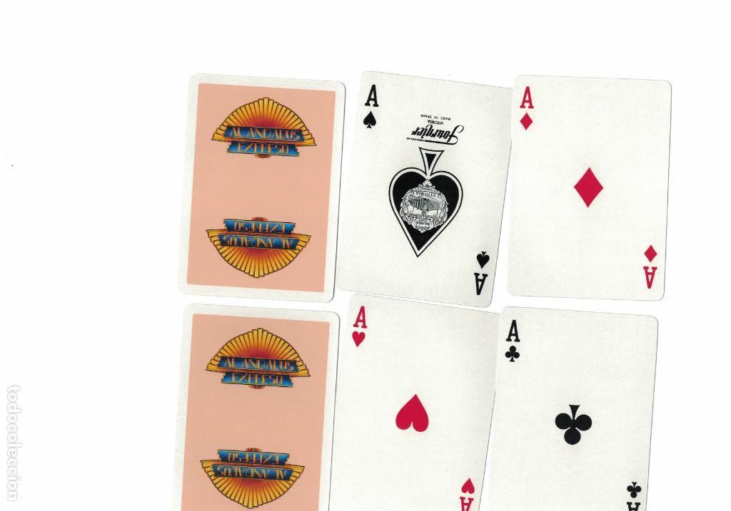 FERROCARRIL BARAJA NAIPES DEL TREN AL ANDALUS (Juguetes y Juegos - Cartas y Naipes - Barajas de Póker)