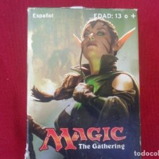 Barajas de cartas: BARAJA DE CARTAS MAGIC THE GATHERING , INCLUYE 2 MAZOS DE 30 CARTAS. Lote 149944754