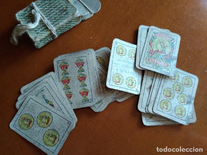BARAJA ESPAÑOLA EN MINIATURA - ANTIGUA (Juguetes y Juegos - Cartas y Naipes - Baraja Española)