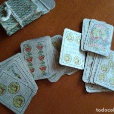 Barajas de cartas: BARAJA ESPAÑOLA EN MINIATURA - ANTIGUA. Lote 149962762