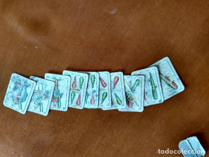 Barajas de cartas: BARAJA ESPAÑOLA EN MINIATURA - ANTIGUA - Foto 2 - 149962762