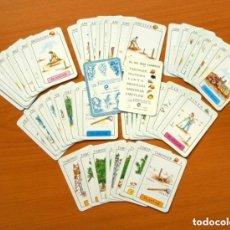 Barajas de cartas: EL JOC DELS CONREUS - GENERALITAT VALENCIANA 1990 - COMPLETA - VER FOTOS Y EXPLICACIONES INTERIORES. Lote 149971786