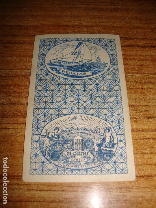 Barajas de cartas: NAIPE CARTA CROMO CHOCOLATES ORTHI CABALLO COPAS HOOT GIBSON - Foto 2 - 149979946