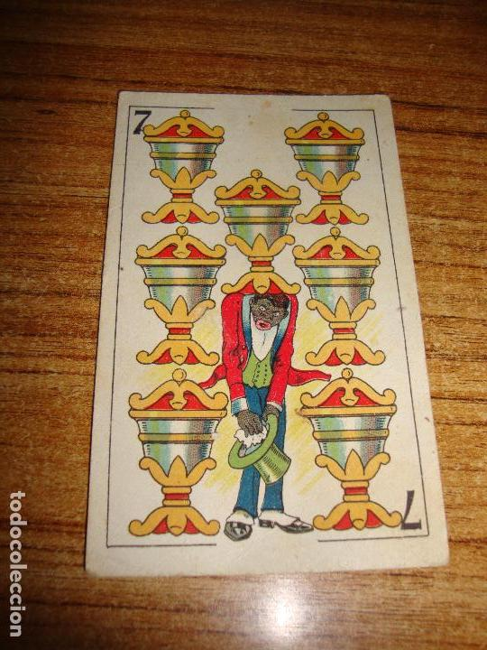 NAIPE CARTA CROMO CHOCOLATES ORTHI 7 COPAS (Juguetes y Juegos - Cartas y Naipes - Otras Barajas)