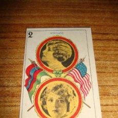 Barajas de cartas: NAIPE CARTA CROMO CHOCOLATES ORTHI 2 OROS. Lote 149980566