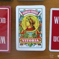 Barajas de cartas: BARAJA HERACLIO FOURNIER - NAIPE ESPAÑOL - COMPLETA, 50 CARTAS - PUBLICIDAD WINSTON. Lote 149991914