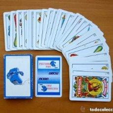 Barajas de cartas: BARAJA HERACLIO FOURNIER - COMPLETA, 40 CARTAS - PUBLICIDAD FIAT. Lote 149992238