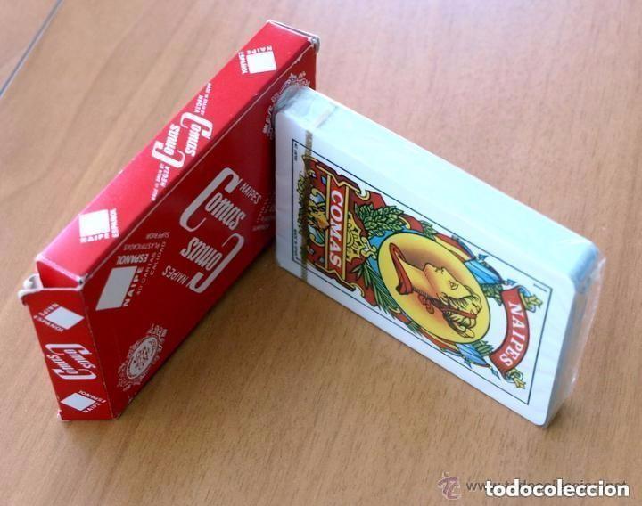 Barajas de cartas: Baraja Naipes Comas - Completa 40 cartas sin abrir - Publicidad Radiola Radio Castilla - Foto 3 - 149994566