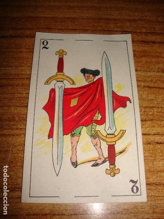 NAIPE CARTA CROMO CHOCOLATES ORTHI 2 ESPADAS (Juguetes y Juegos - Cartas y Naipes - Otras Barajas)