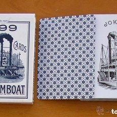 Barajas de cartas: BARAJA POKER, 54 CARTAS - STEAMBOAT 999. Lote 150048894