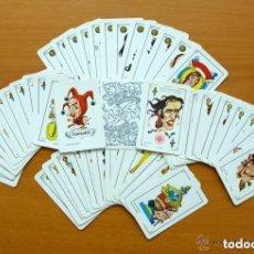 Baraja Caricaturas deportistas años 70 - Completa, 50 cartas - Ver fotos interiores