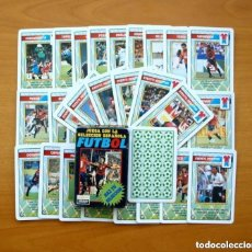 Baraja de la Selección Española de fútbol de 1996 - Completa 33 cartas, ver fotos interiores