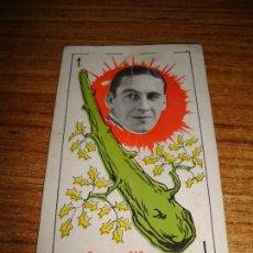 Barajas de cartas: NAIPE CARTA CROMO CHOCOLATES ORTHI AS BASTOS GEORGE O'BRIENS. Lote 150109122