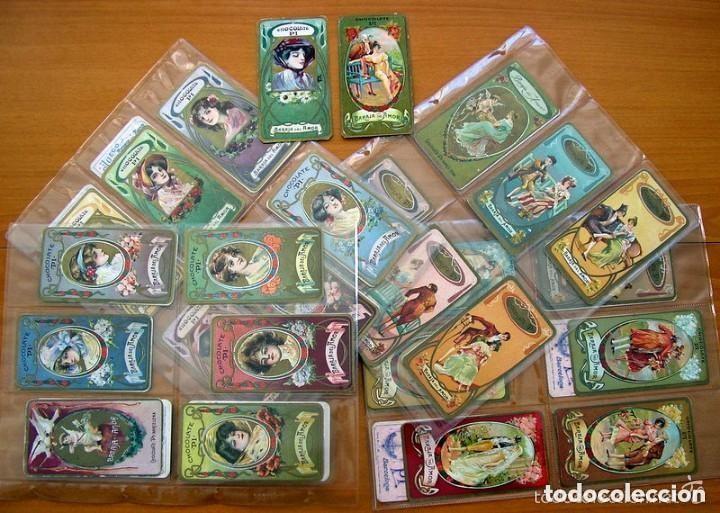 BARAJA DEL AMOR - JUEGO DE MESA - CHOCOLATES PI - COMPLETA, 50 CARTAS - VER FOTOS INTERIORES (Juguetes y Juegos - Cartas y Naipes - Otras Barajas)
