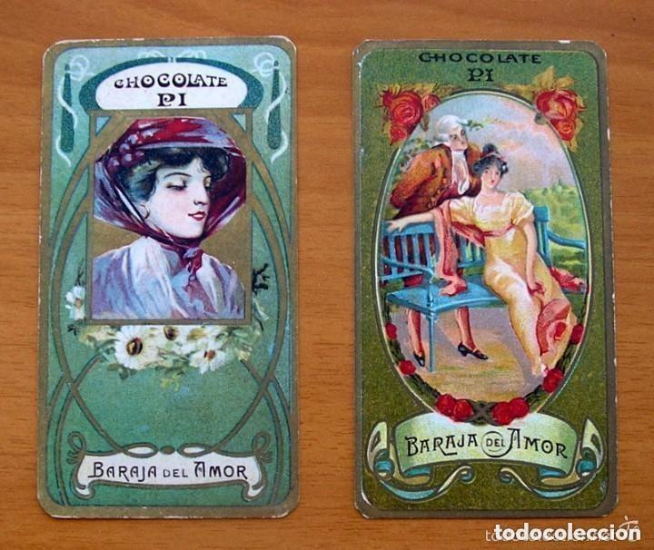 Barajas de cartas: Baraja del amor - Juego de mesa - Chocolates Pi - Completa, 50 cartas - ver fotos interiores - Foto 2 - 150109242