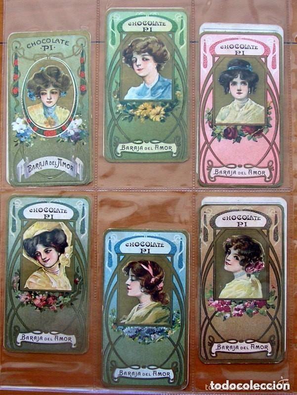 Barajas de cartas: Baraja del amor - Juego de mesa - Chocolates Pi - Completa, 50 cartas - ver fotos interiores - Foto 5 - 150109242