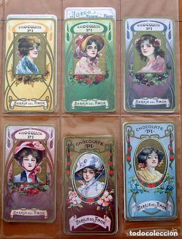 Barajas de cartas: Baraja del amor - Juego de mesa - Chocolates Pi - Completa, 50 cartas - ver fotos interiores - Foto 6 - 150109242
