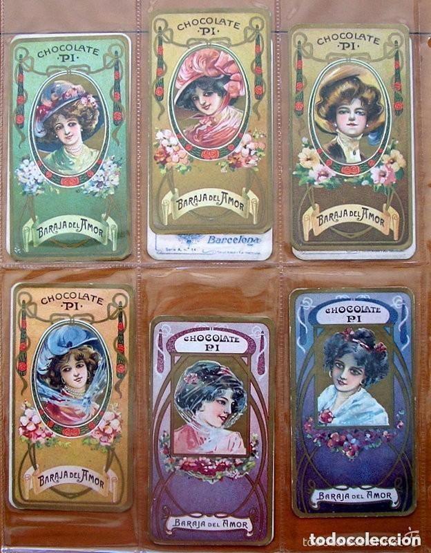 Barajas de cartas: Baraja del amor - Juego de mesa - Chocolates Pi - Completa, 50 cartas - ver fotos interiores - Foto 7 - 150109242