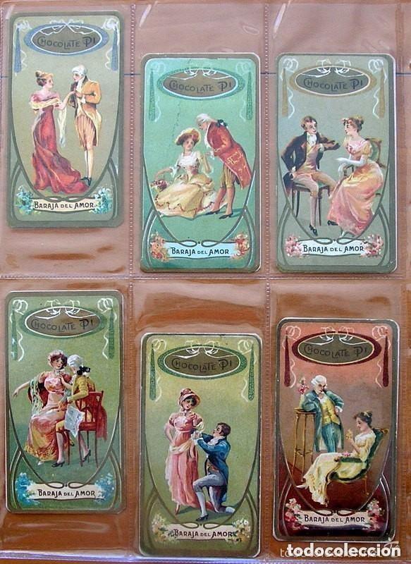 Barajas de cartas: Baraja del amor - Juego de mesa - Chocolates Pi - Completa, 50 cartas - ver fotos interiores - Foto 9 - 150109242