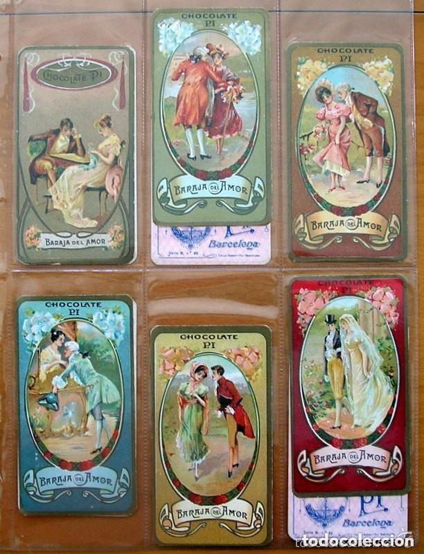 Barajas de cartas: Baraja del amor - Juego de mesa - Chocolates Pi - Completa, 50 cartas - ver fotos interiores - Foto 10 - 150109242